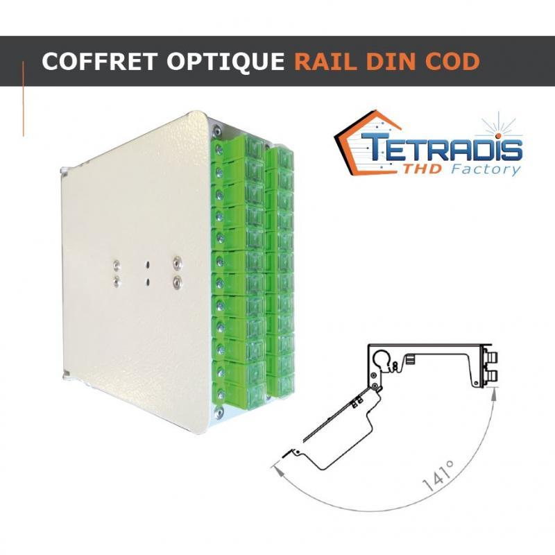 Coffret Optique Rail DIN COD