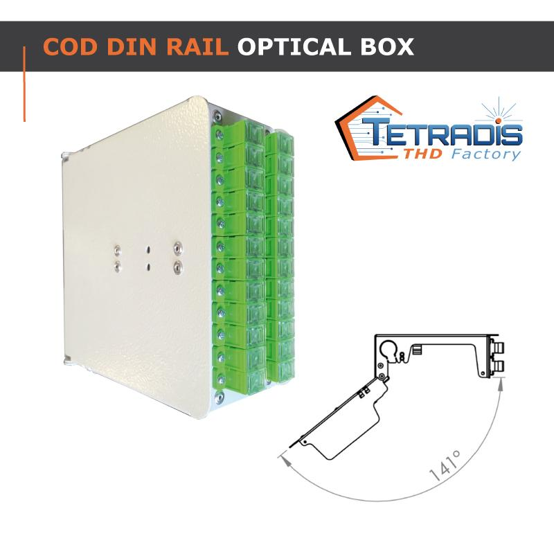 COD DIN Rail Optical box