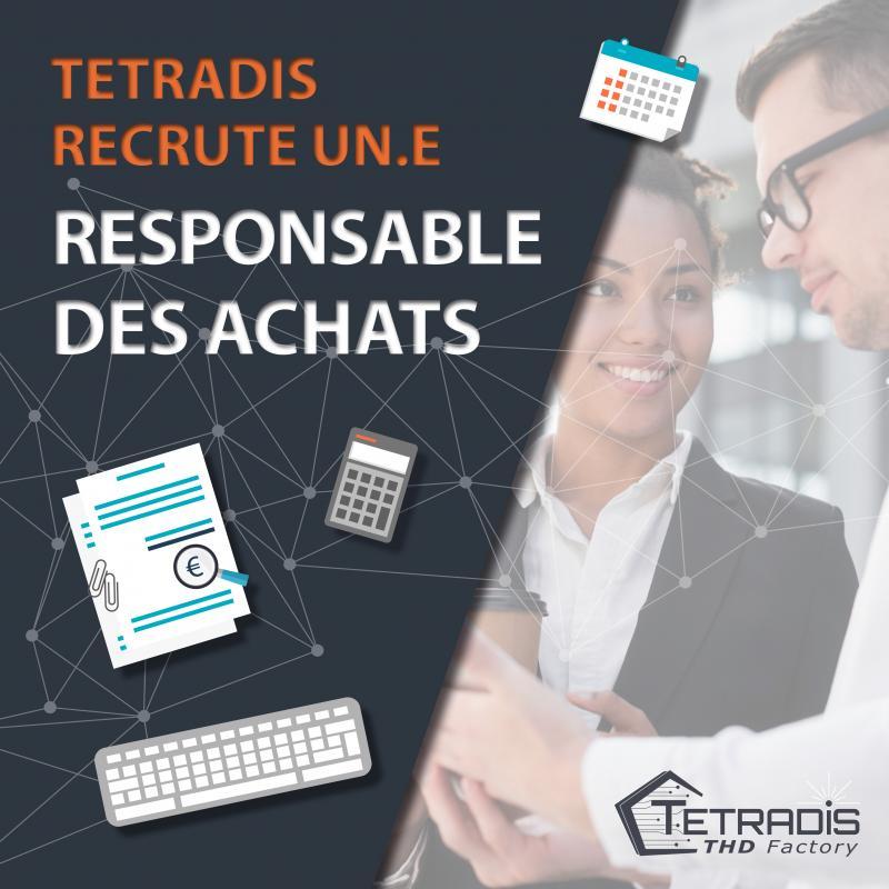 Recrutement Responsable des Achats TETRADIS