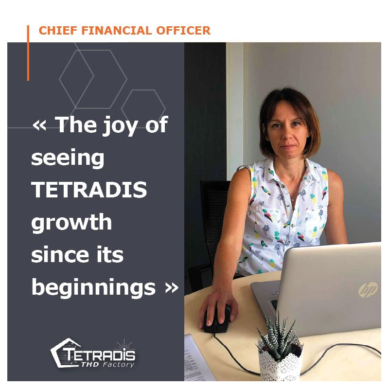 Meet our Chief Financial Officer !