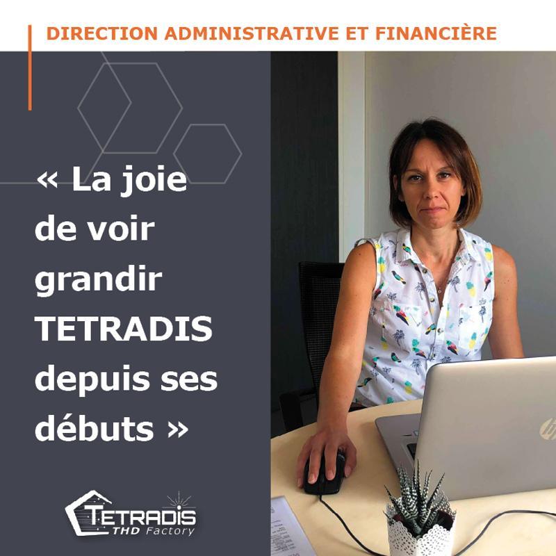 Faites la rencontre de notre Directrice Administrative et Financière !