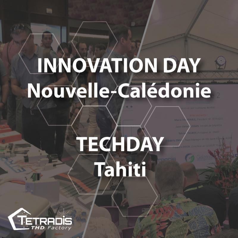 TETRADIS present at international shows int New-Caledonia and Tahiti