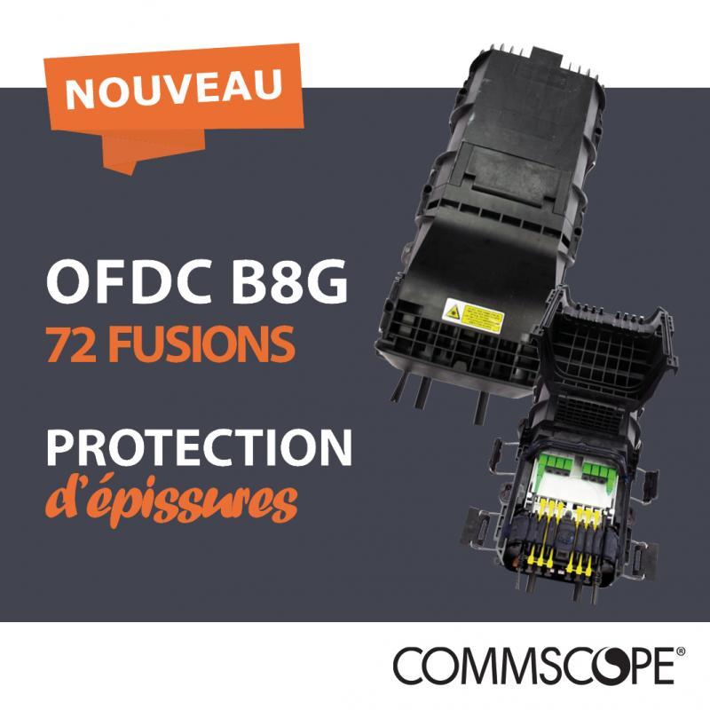 NOUVEAUTÉ OFDC B8G : Le boîtier de protection d'épissures modulaire