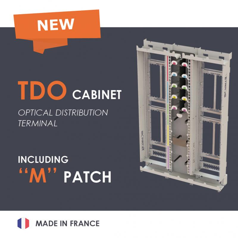 NEW : The TDO cabinet, a made in France innovation