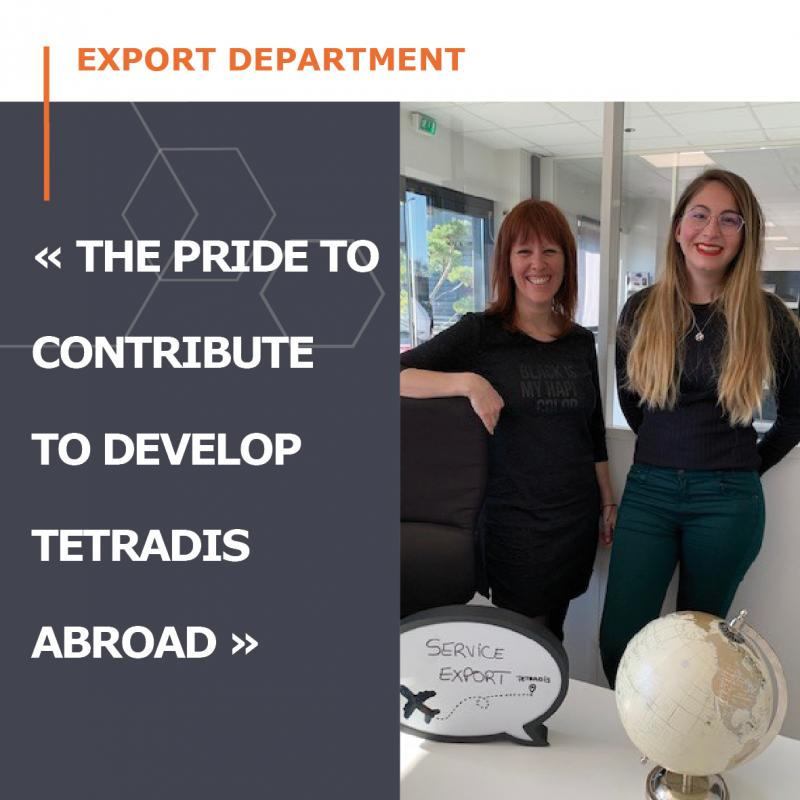 Come Discover our Export team !