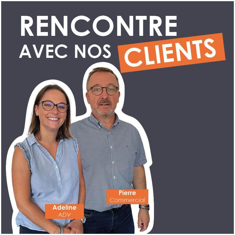 Rencontre avec nos clients : Charleine et Pierre