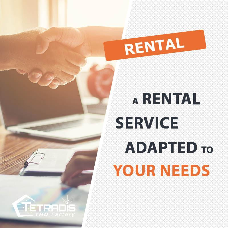 A rental service adapter to your needs !
