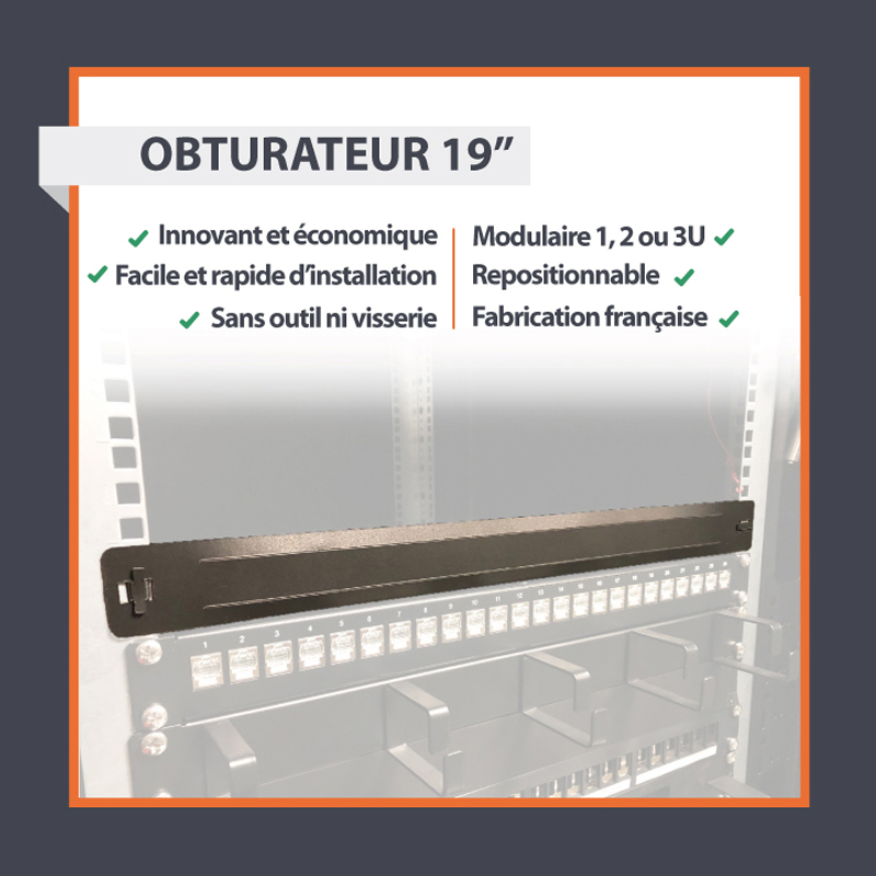 L'obturateur 1U 19""