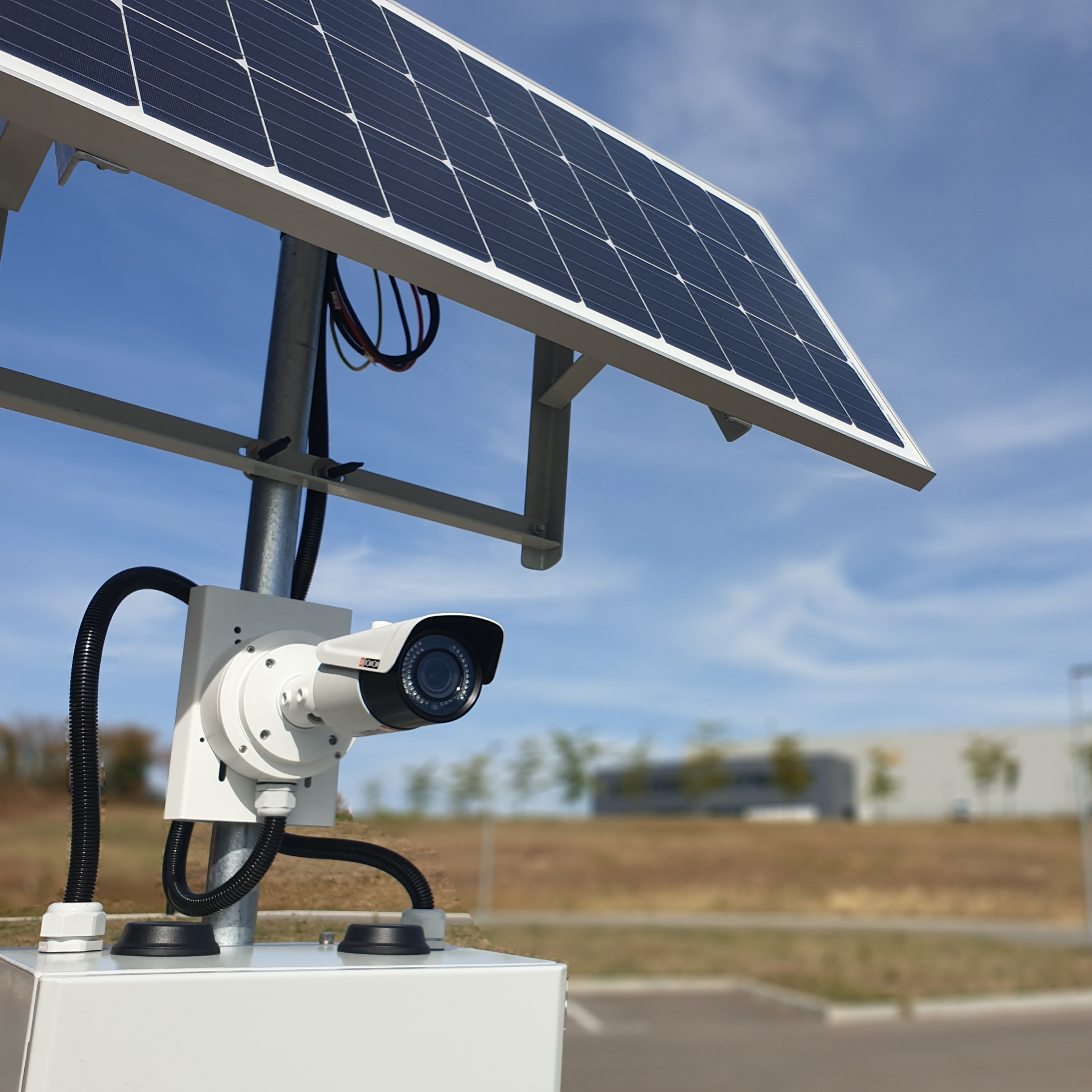 POWER CAM : un système de vidéosurveillance solaire et autonome