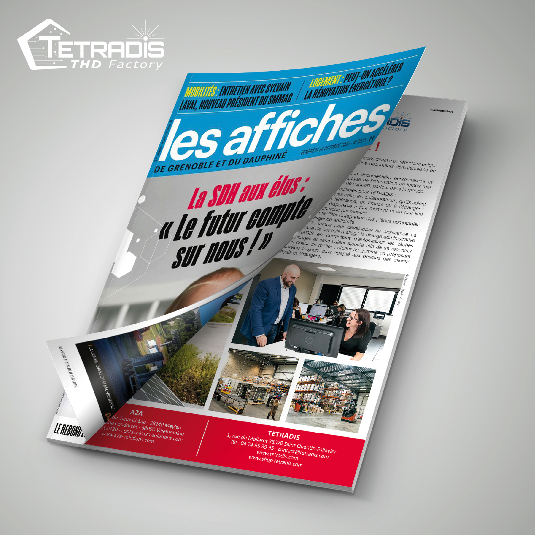 A2A / TETRADIS : Un partenariat de confiance mis à l'honneur dans la presse