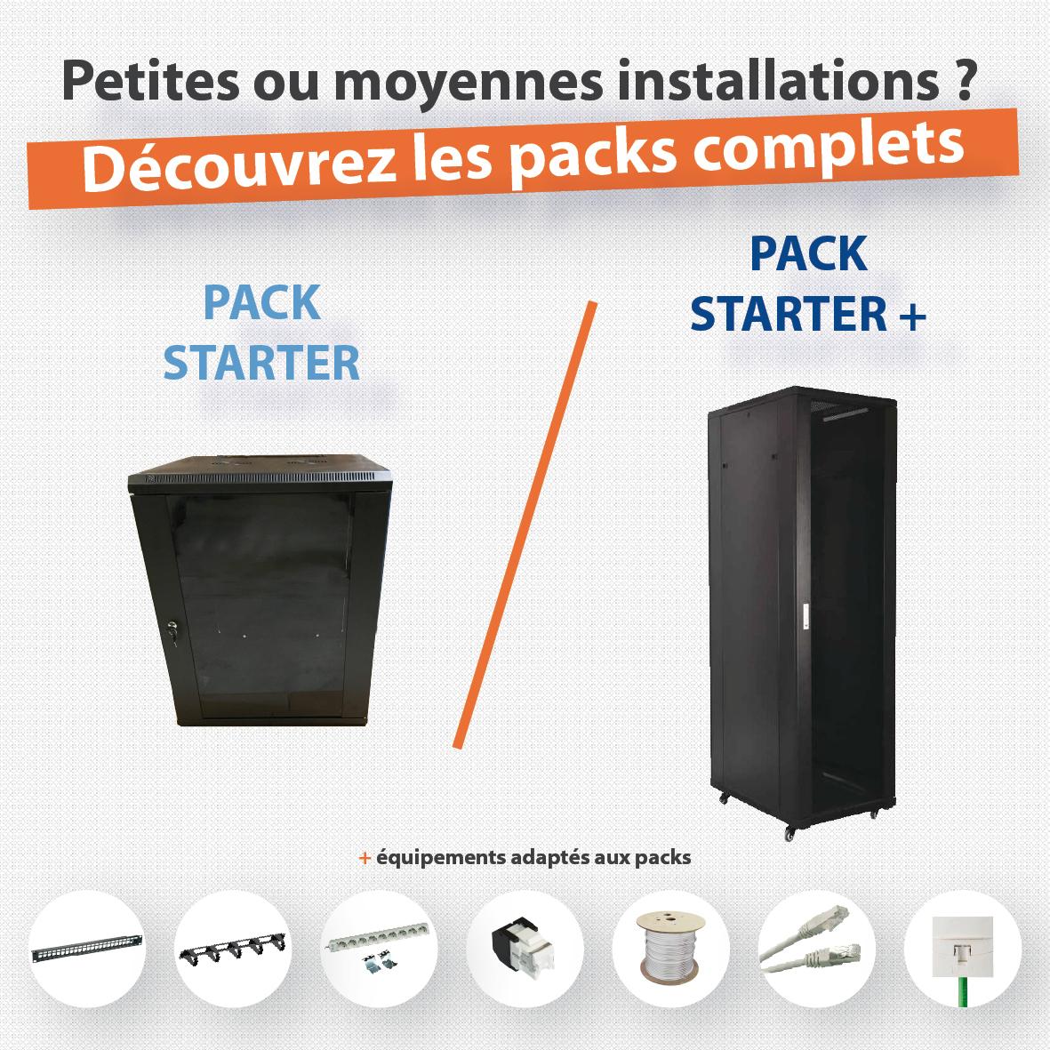 Les packs STARTER et STARTER +