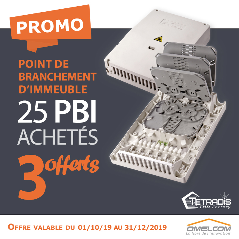 Promo : Point de Branchement Immeuble